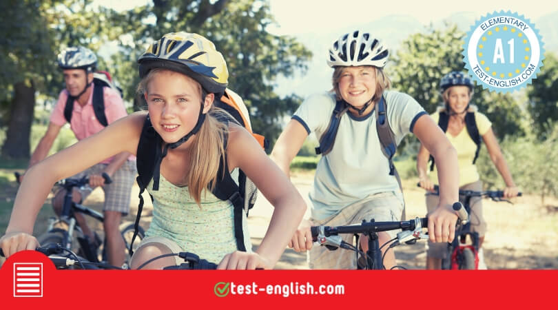 A1 English reading comprehension test
