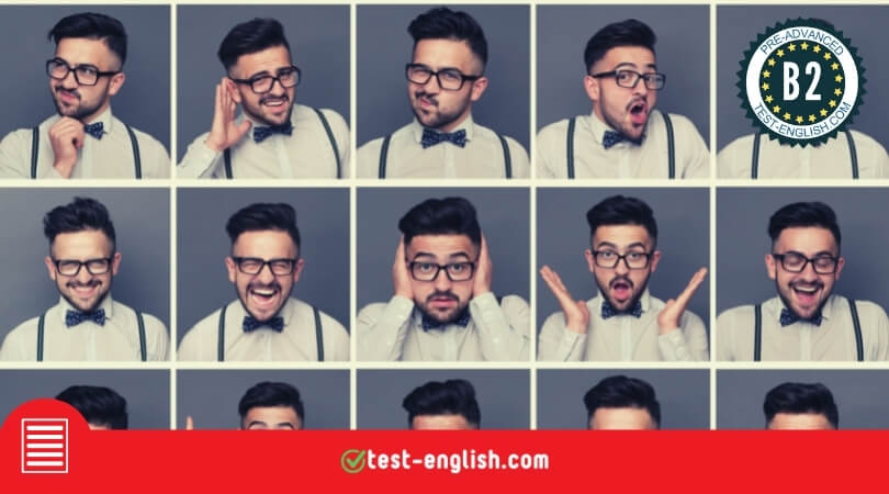 Personality and health – Reading test